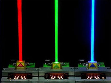 NECSEL Laser RGB